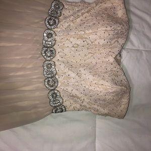 Speechless Dresses - Long Cream Colored Dress